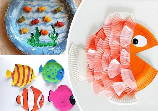 рыбки из тарелок