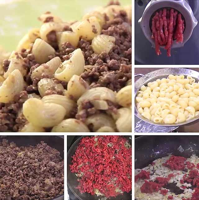классический рецепт макароны по флотски