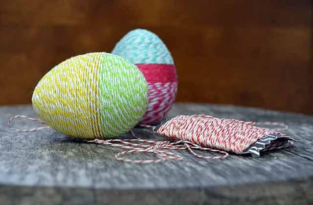 пряжа для пасхального яйца