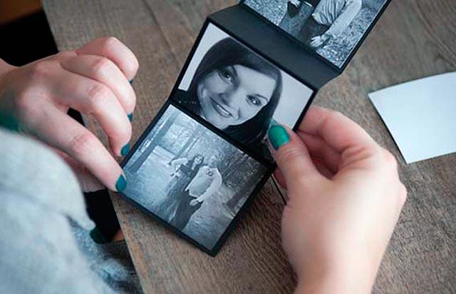 маленький фотоальбом