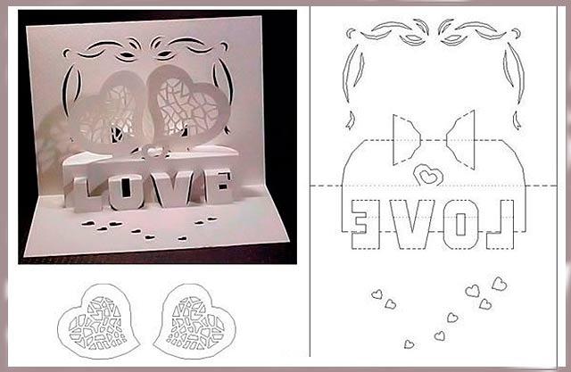 открытка любимому на день святого валентина