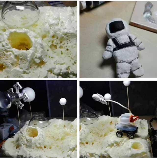 поделка на день космонавтики