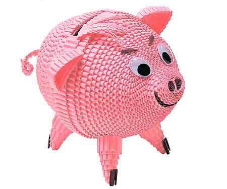 свинка - поделка