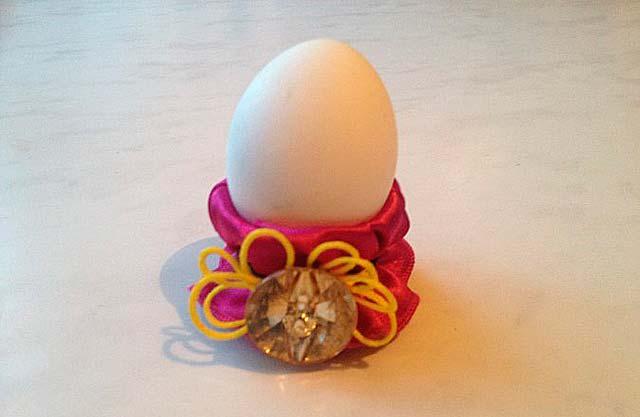 держатель яиц с лентой