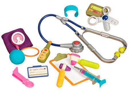 игрушечные медицинские инструменты