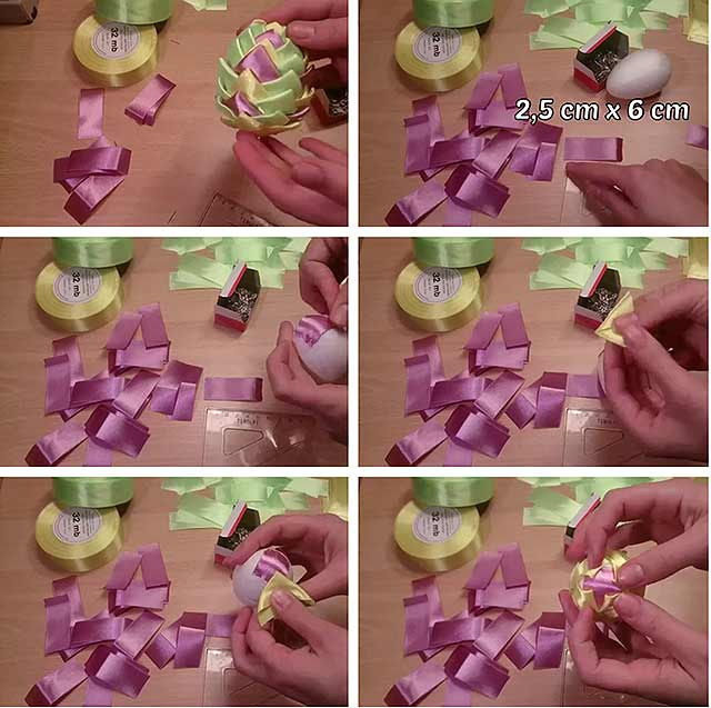 Пасхальные украшения своими руками для дома из бумаги, ткани, ниток, соленого теста