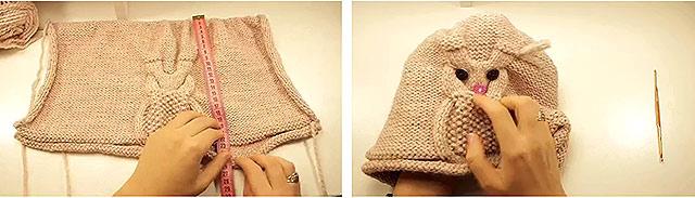 схема вязки шапочки