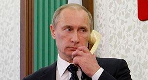 звонит Путин