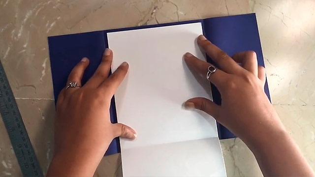 белый лист бумаги