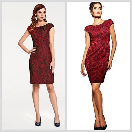 красивое цветное платье