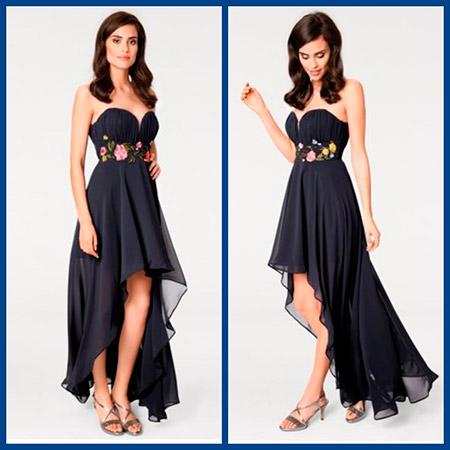 платье с корсажем