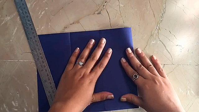 синяя бумага