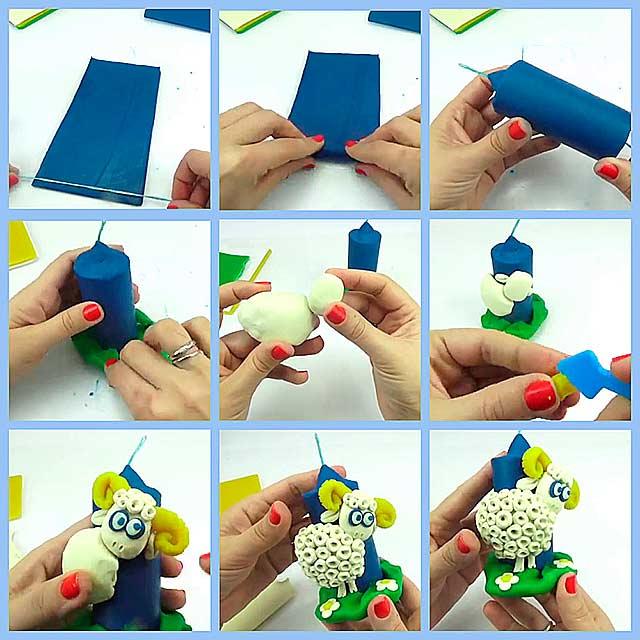 Поэтапная лепка из пластилина. Уроки для детей