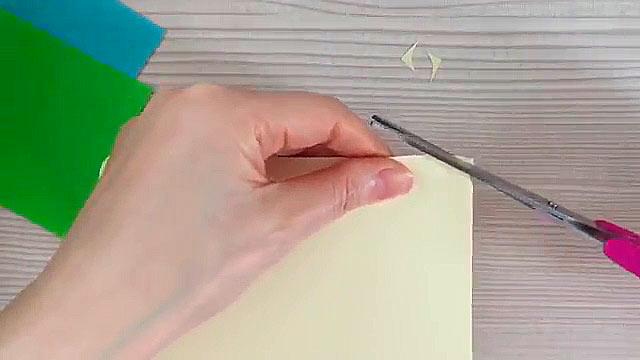 уголок бумаги
