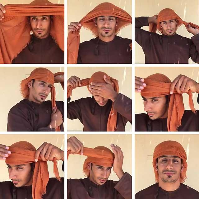 тюрбан в арабском стиле