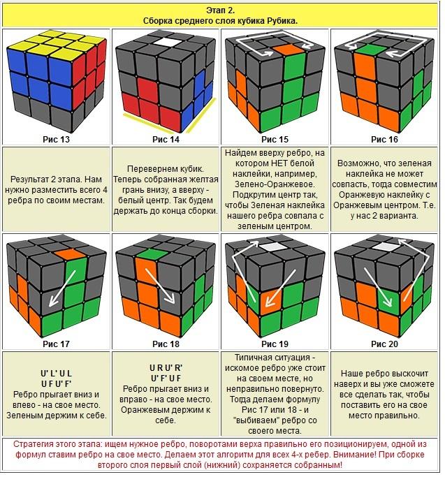 кубика видео сборки рубика скачать