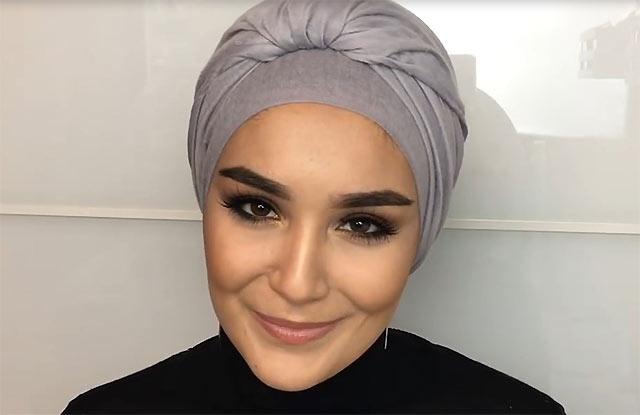Завязываем платок на голове красиво (100 фото)