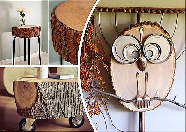 60 изделий из дерева своими руками: фото, схемы, видео
