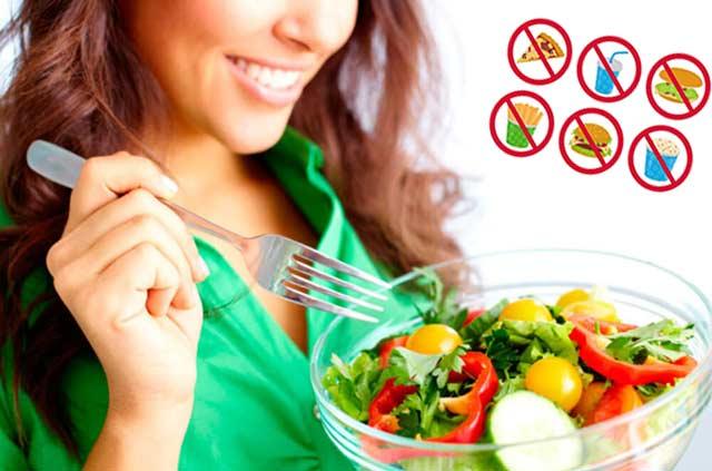 Меню (на каждый день) + принципы правильного питания для снижения веса