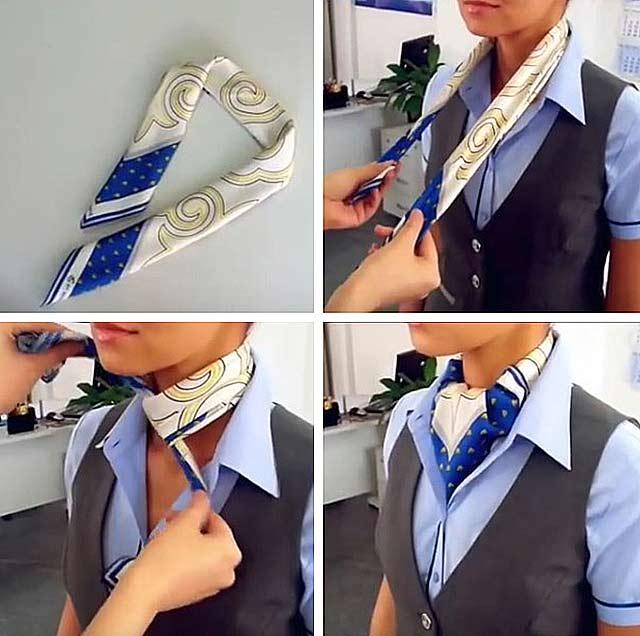 платок под рубашку