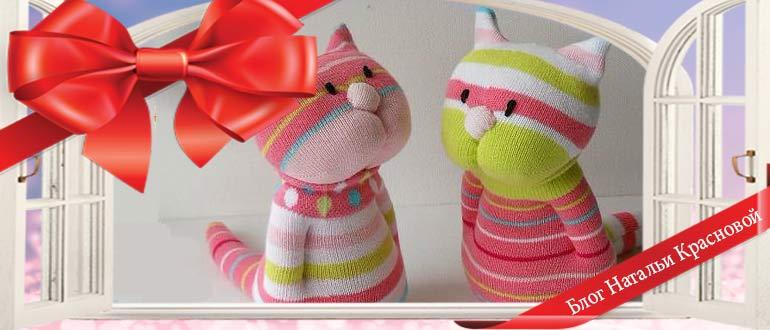 Снеговик из носка на Новый год