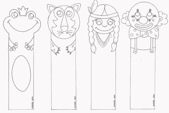 шаблон закладки