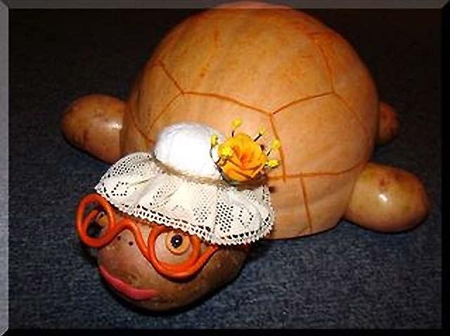 черепаха поделка