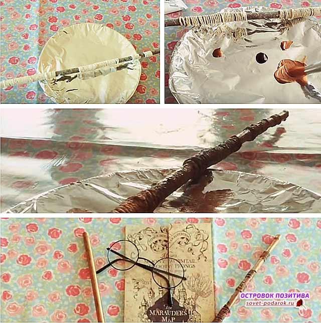 волшебная палочка Гарри Потера своими руками
