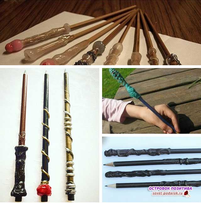 волшебная палочка из карандаша