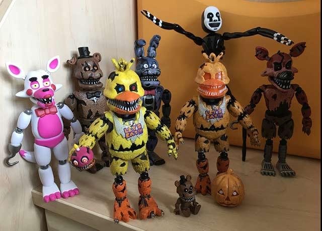 игрушки фнаф