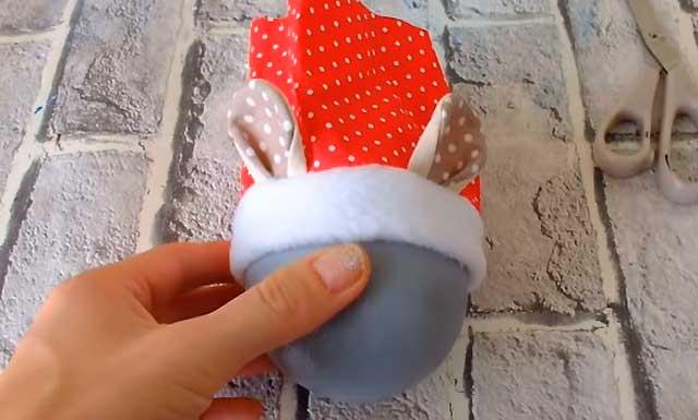 шапочка для игрушки