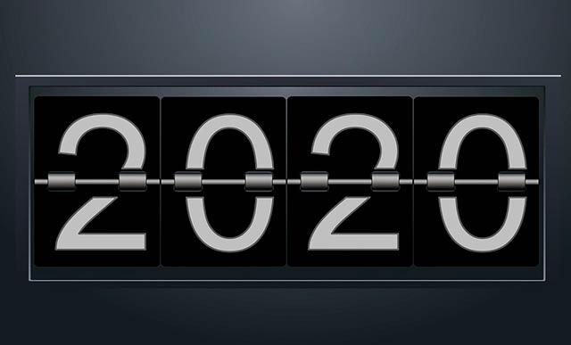 цифры 2020