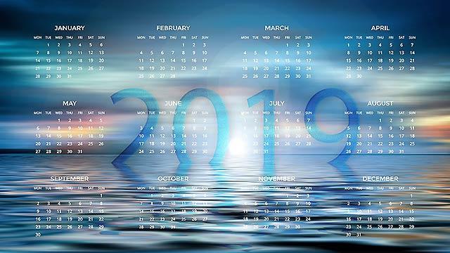 календарь на новый год