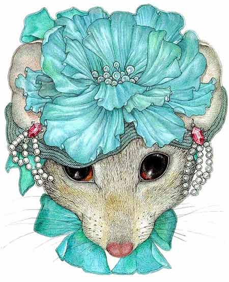 маска козы