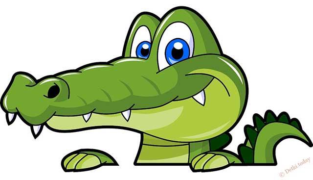 маска крокодила