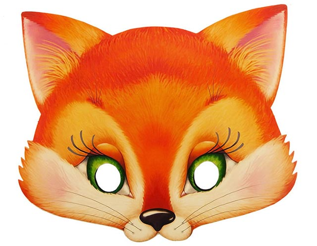 маска лисички