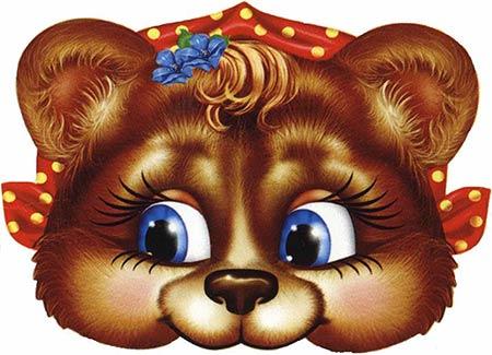 маска медведицы