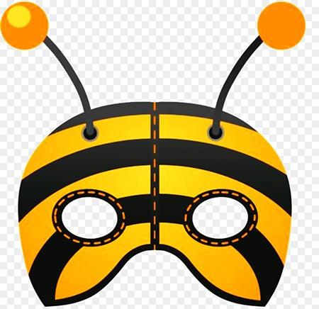 маска пчелы