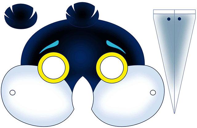 маска сороки