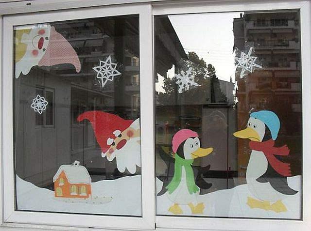 окно в детском саду