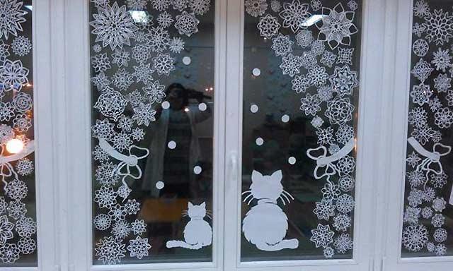 красивое окно для детского сада
