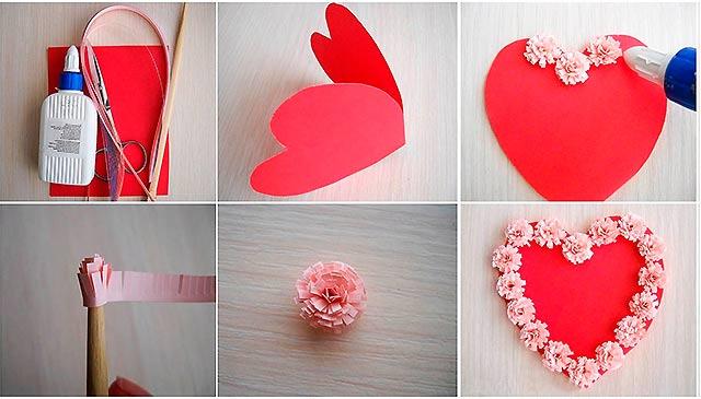 открытка-сердце