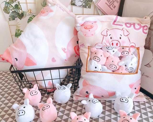 свинка подушка