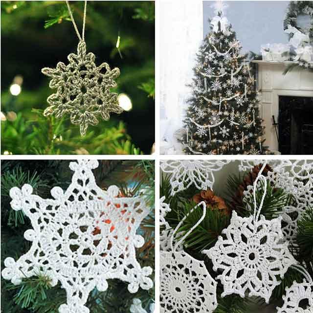 красивые снежинки на елку