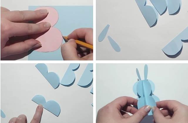 бумажный заяц