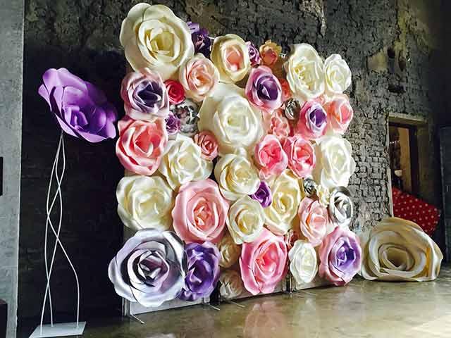 бутоны цветов из фоамирана