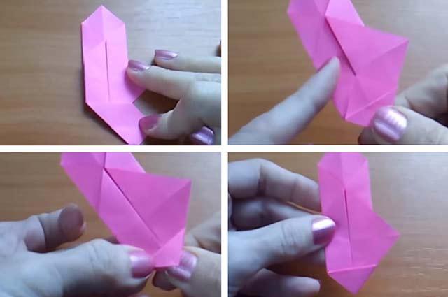 как сделать корзинку в технике оригами