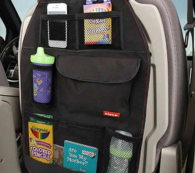 органайзер с кармашками в машину