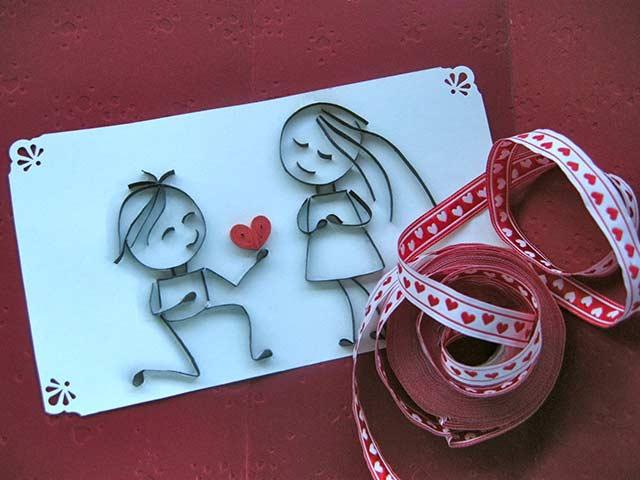 поделка с любовью