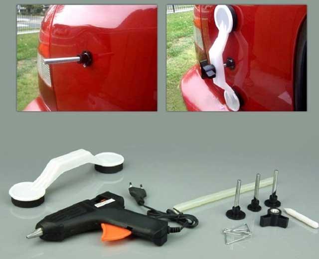 прибор для вытягивания вмятин авто